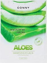 Kup Aloesowa maska kojąca do twarzy - Conny Aloe Essence Mask
