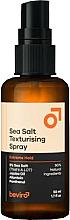 Kup PRZECENA! Teksturyzujący spray do stylizacji włosów z solą - Beviro Salty Texturizing Spray Extreme Hold *
