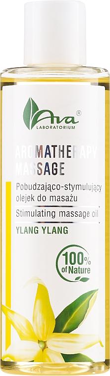 Pobudzająco-stymulujący olejek do masażu Ylang-ylang - AVA Laboratorium Aromatherapy Massage