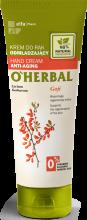 Kup Odmładzający krem do rąk z ekstraktem z jagód goji - O'Herbal Hand Cream Anti-Aging