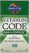 Kup Suplement diety - Garden of Life Vitamin Code Raw K-Complex