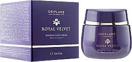 Kup Odbudowujący krem na noc - Oriflame Royal Velvet Night Cream