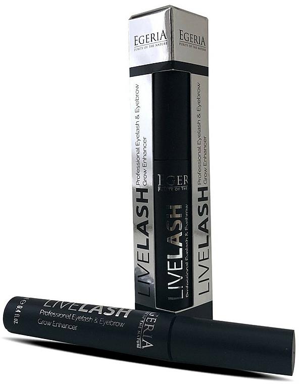 Serum do brwi i rzęs - Egeria Livelash Eyelash & Eyebrow Grow Enhancer