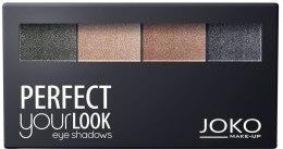 Kup Paletka cieni do powiek - Joko Perfect Your Look Quattro Eye Shadows New
