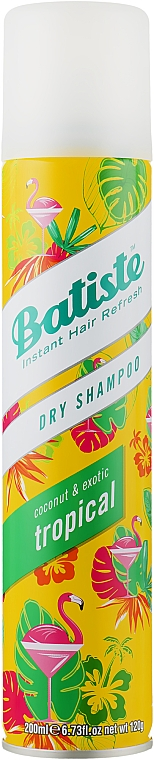 Suchy szampon - Batiste Dry Shampoo Coconut and Exotic Tropical