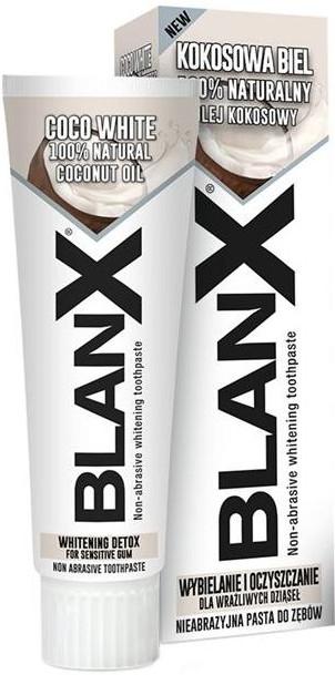 Wybielająca pasta do zębów - Blanx Coco White Toothpaste