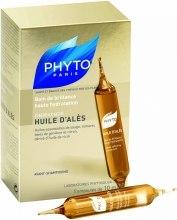 Kup Ampułki z olejkami intensywnie nawilżające włosy suche - Phyto Huile d'Alès