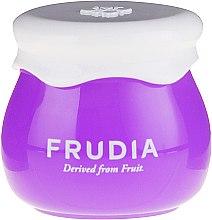 Jagodowy intensywnie nawilżającykrem do twarzy - Frudia Blueberry Intensive Hydrating Cream (miniprodukt) — фото N2