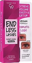 Kup Pogrubiający tusz do rzęs - Golden Rose End Less Lashes Instant Volume Mascara