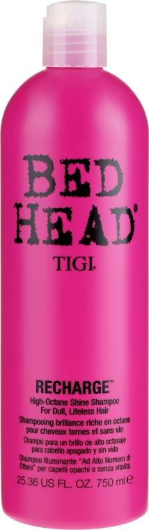 Nabłyszczający szampon do włosów - TIGI Bed Head Recharge High-Octane Shine Shampoo — фото N3