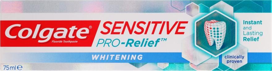 Wybielająca pasta do zębów - Colgate Sensitive Pro-Relief Whitening