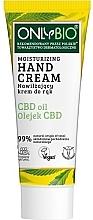 Kup Silnie nawilżąjący krem do rąk do skóry suchej i podrażnionej - Only Bio Only Eco CBD Oil