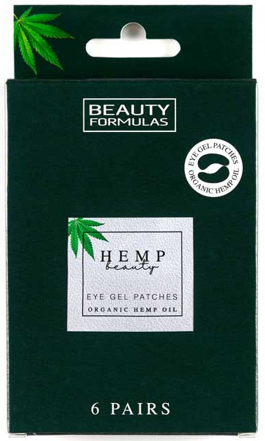 Żelowe plastry pod oczy - Beauty Formulas Hemp Beauty Eye Gel Patches