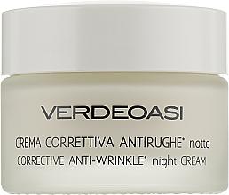 Kup Przeciwzmarszczkowy krem na noc - Verdeoasi Anti-Wrinkles Night Cream Corrective
