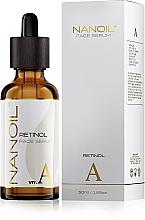 Kup Odmładzające serum do twarzy z retinolem - Nanoil Face Serum Retinol