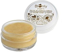 Kup Mus do ust miodowo-makowy - BIOnly Organic Lip Mousse Honey & Poppy