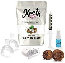 Kup Zestaw do wybielania zębów Kokos - Keeth Coconut Teeth Whitening Kit