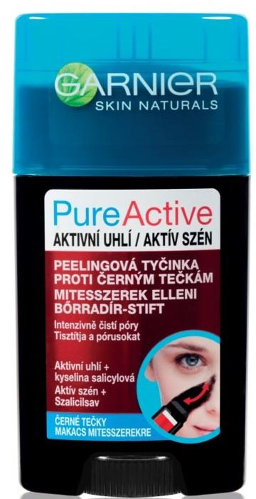 Peeling do twarzy przeciw czarnym wągrom - Garnier Pure Active Charcoal — фото N1
