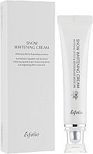 Kup Krem nawilżający rozjaśniający skórę - Esfolio Snow Whitening Cream