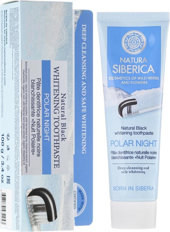 Głęboko oczyszczająca pasta wybielająca do zębów - Natura Siberica Toothpaste Polar Night