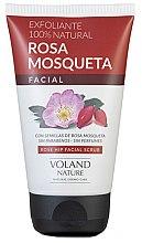 Kup Delikatny różany peeling do twarzy - Voland Nature Rose Hip Facial Scrub