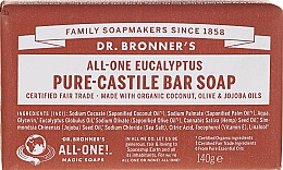 Kup Mydło w kostce Eukaliptus - Dr. Bronner's Pure Castile Bar Soap Eucalyptus