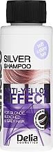Kup Szampon do włosów siwych, blond i rozjaśnionych - Delia Cosmetics Cameleo Silver Shampoo Anti-Yellow Effect