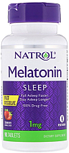 Kup Melatonina Instant, 1 mg o smaku truskawkowym - Natrol Melatonin Sleep