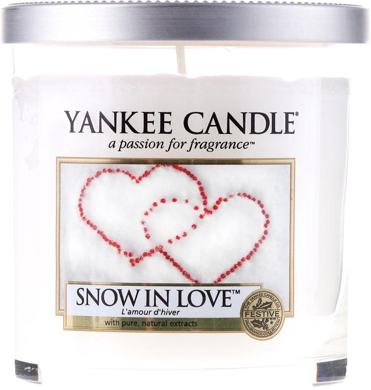 Świeca zapachowa pilar Zimowa miłość - Yankee Candle Snow In Love