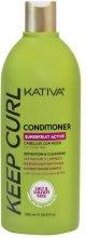 Odżywka do włosów kręconych ułatwiająca rozczesywanie - Kativa Keep Curl Conditioner — фото N3