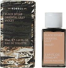 Korres Black Sugar Oriental Lilly Violet - Woda toaletowa — фото N2