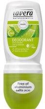 Kup Dezodorant w kulce Limonka i werbena - Lavera 24H Deodorant Roll-On Lime & Verbena