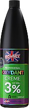 Emulsja utleniająca w kremie do rozjaśniania i farbowania włosów 3% 10 Vol. - Ronney Professional Oxidant Creme  — фото N1