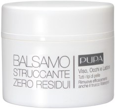 Kup Balsam do demakijażu twarzy, oczu i ust - Pupa Balsamo Struccante Zero Residui Tutti I Tipi Di Pelle