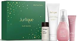Kup Zestaw - Jurlique Mini Face Treats Set (essence/10ml + f/foam/20g + f/mist/30ml + f/ser/5ml)