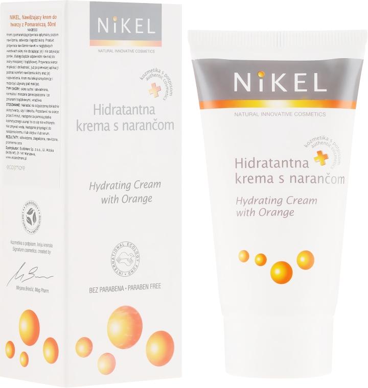 Nawilżający krem do twarzy z pomarańczą - Nikel Hydrating Cream With Orange — фото N1