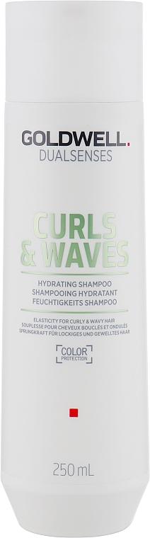 Szampon do włosów kręconych i falowanych - Goldwell Dualsenses Curls & Waves Hydrating Shampoo