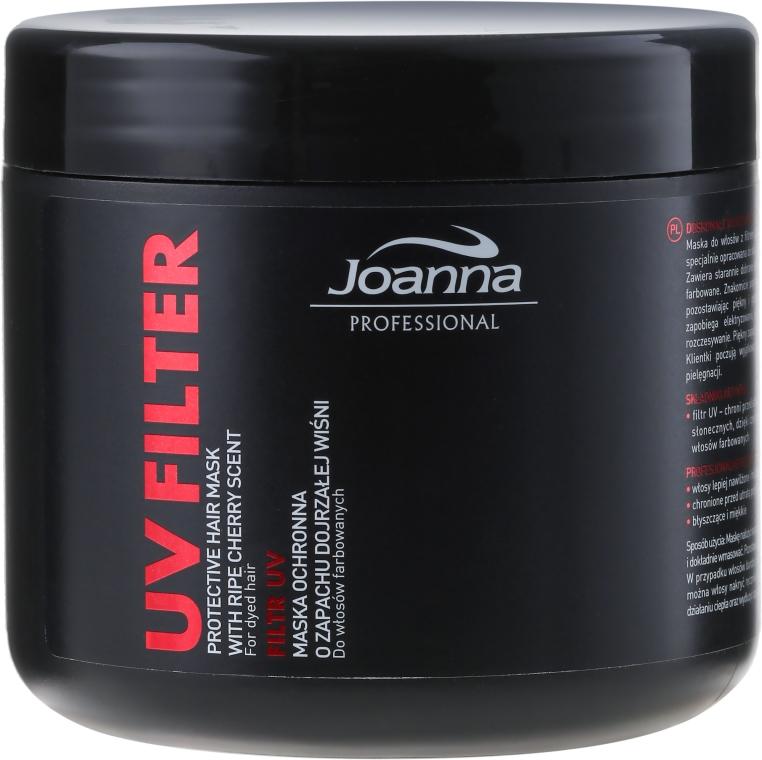 Maska ochronna do włosów farbowanych o zapachu dojrzałej wiśni - Joanna Professional