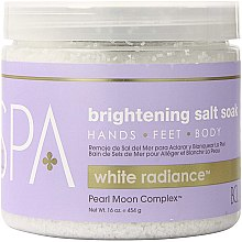 Kup Rozjaśniająca sól morska - BCL Spa White Radiance Brightening Salt Soak