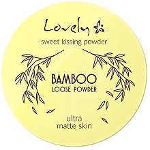 Kup Puder - Lovely Bamboo Loose Powder