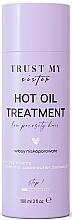 Kup Olejek do włosów niskoporowatych - Trust My Sister Low Porosity Hair Hot Oil Treatment