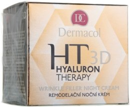 Kup Krem do twarzy na noc z kwasem hialuronowym - Dermacol Hyaluron Therapy 3D Wrinkle Night Filler Cream
