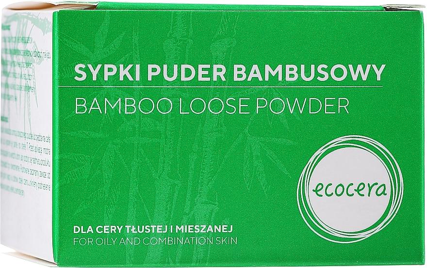 Sypki puder bambusowy - Ecocera Bamboo Face Powder