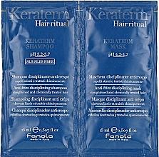 Kup Zestaw próbek do zniszczonych włosów - Fanola Keraterm (shmp 15 ml + mask 15 ml)
