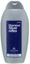 Kup Szampon do włosów siwych i rozjaśnianych - Kallos Cosmetics Silver Reflex Shampoo