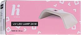Zestaw startowy do manicure (n/base 5 ml + n/top 5 ml + n/polish 5 ml + n/cl 50 ml + lamp + baff + n/file 1 pc)  - Hi Hybrid — фото N11