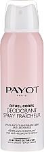 Kup Bezalkoholowy dezodorant-antyperspirant w sprayu - Payot Rituel Corps 48H Antiperspirant Alcohol Free