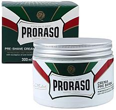 Kup Zmiękczający i nawilżający krem przed goleniem z wyciągiem z eukaliptusa i mięty - Proraso Pre-Shaving Refreshing and Toning Cream