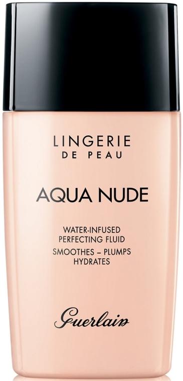 Nawilżający fluid do twarzy - Guerlain Lingerie de Peau Aqua Nude