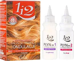 Kup Keratynowy płyn do trwałej ondulacji do włosów normalnych i odpornych na skręt 1 i 2 - Celia